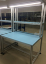 Testing Table Aluminum Profile