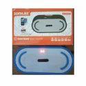 Sonilex White & Blue Sonliex Bluetooth Portable Speaker