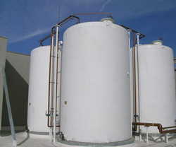 Spiral Chemical Storage Tanks