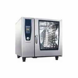 Silver Stainless Steel Combi Oven, Size/Dimension: Large