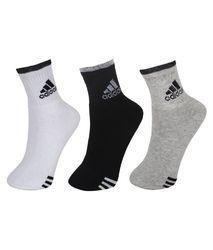 294f925c397 Gray And White Unisex Custom Branded Promotional Socks