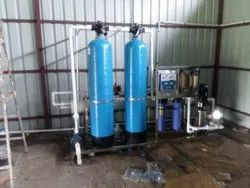 Reverse Osmosis PVC 2000lph ro plant, Model Name/Number: 10106, 400sqr