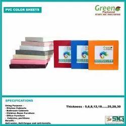 Green Plastwood White Rigid PVC Board