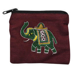 Embroidered Pouch Bags