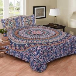 Indian Navy badmedi Naptol Print Duvet Doona Cover