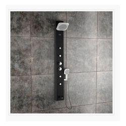 Olive Black Shower Panel