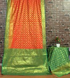 Banarasi Patola Saree, Length: 6.3 m