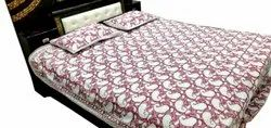 Handmade Mughal Block Print Bed Sheet
