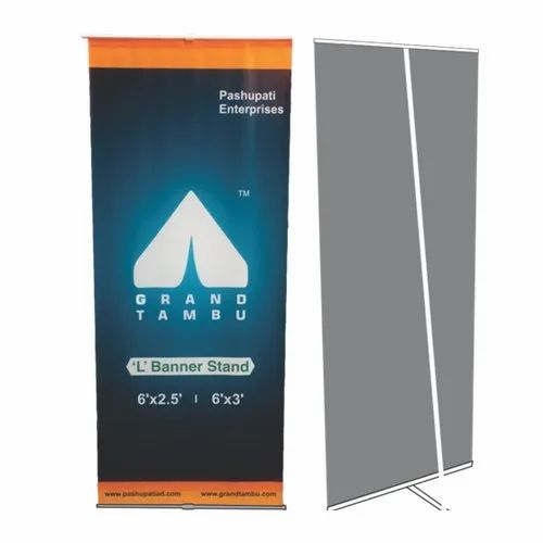 3 Ft X 6 Outdoor Banner Stand In Ground Fiber Frame Strong And Easy To Install That Goes Up Minutes As