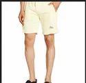 Flying Machine Mens Cotton Shorts