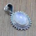 New Designer Jewelry Natural Labradorite Gemstone Silver 925 Pendant