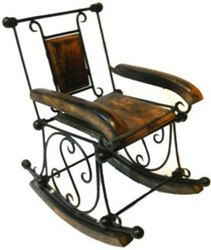 MKI Black Decorative Chair, For Decoration, Normal