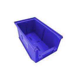 25 Blue HDPE Plastic Bin