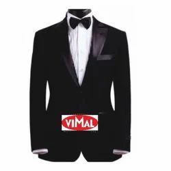 Full Sleeve Formal Wear Men Black Tuxedo Suit c560f0faccbe
