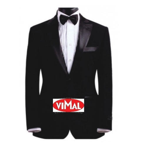 Full Sleeve Formal Wear Men Black Tuxedo Suit