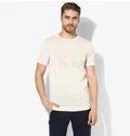 Beige Round-neck T-shirt 8220120