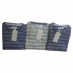 Men's Cotton Full Sleeve T-Shirt, Size: S to XXXL