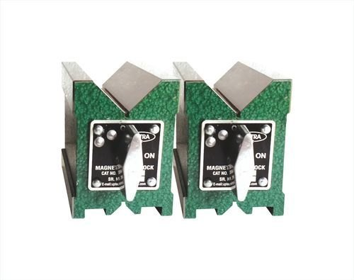 OFF Switch Tool Premium Magnetic V Block Vee Block Magnetic Base with ON