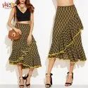 Summer Wear Casual Skirts For Woman