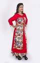 Designer Double Layered Printed Kurti