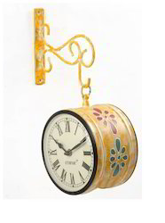 Hand Painted Decorative Station Clocks