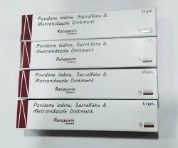Povidone and Sucralfate Cream