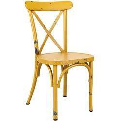 Metal Restaurant Chair