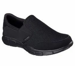 Men Mesh + Faux Leather Skechers Equalizer-Persistent 51361, Size: Us 7 To 12