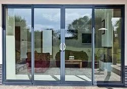 Closet Doors Glass Aluminium Sliding Door