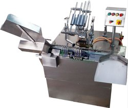 Automatic Four Nozzle Ampoule Filling Machine