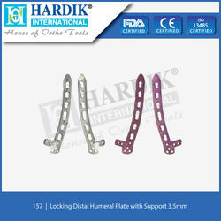 Locking Distal Humeral Plate with Support 3.5mm