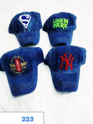 Stylish Jeans Embroidery Baseball Caps And Hats, Code 223