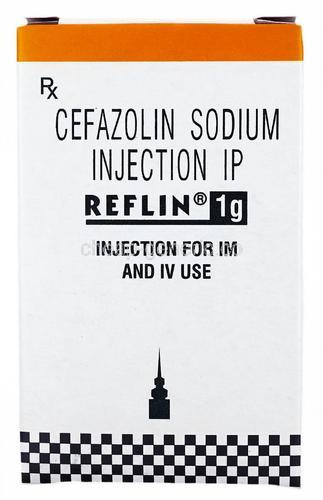 Cefazolin Sodium 1 gm Injection - Reflin - Cezolin - Nostof