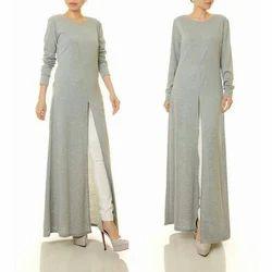 Ladies Long Sleeve Maxi Dress