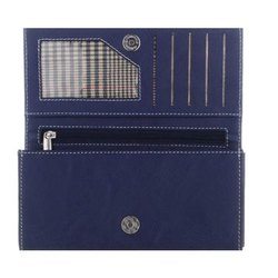 Ladies Blue Leather Wallet