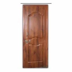 Wooden Hinged 2 Panel With Frame Regular Single Side Flush Door, Size/Dimension: 30 X 78 Inch