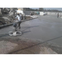 Vacuum Dewatered Flooring Service