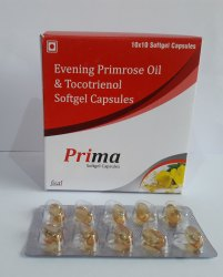 Evening Primrose Oil 500 Mg & Tocotrienol 50% 30 Mg)