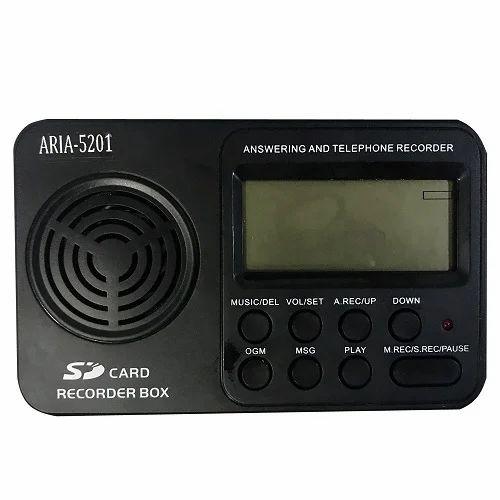AR 5201 Single Line Embedded Telephone Recorder