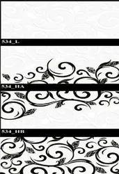534 (L, HA, HB) Hexa Ceramic Tiles Glossy  Series
