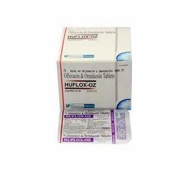 Ofloxacin And Ornidazole Tablets, 10 X 10 Tablet
