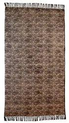 Jaipur Cotton Printed Rug 100% cotton handmade Dhurrie boho rug area rug bohemian decor