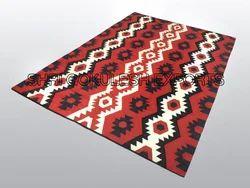 Multicolor SGE Chevron Jute Carpet