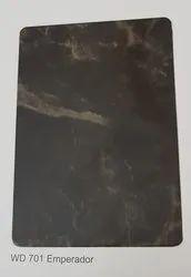 Wd-701 Emperador Marble ACP Sheets