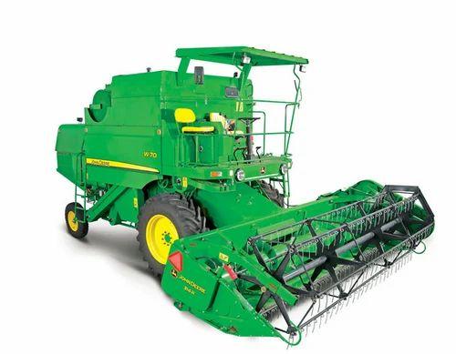 Combine Harvester Model W70 on