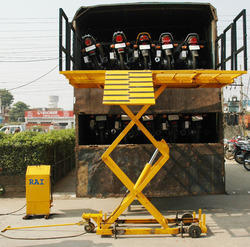Two Wheeler Loading Lift