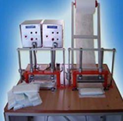 Manually Sanitary Napkin Making Machine