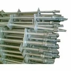 Mahavir,ME Metal Plate Type Foundation Bolt, For Construction, Size: M16 To M80