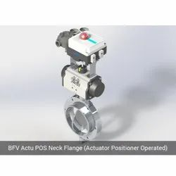 BFV Actu POS Neck Flange Actuator Positioner Operated