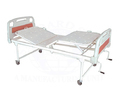 Standard Steel White Fowler Hospital Bed, Size: 78x36x24